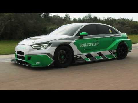 Schaeffler debut 880 kW AWD Concept Electric Audi RS3 [VIDEO]   Electric Vehicle News