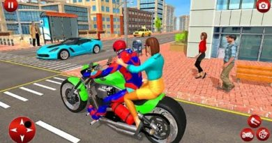 Police Speed Hero Bike Taxi Simulator Speed Hero Robot Super Bike Games Android Gameplay