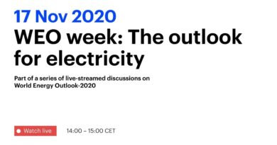 WEO Week: The outlook for electricity