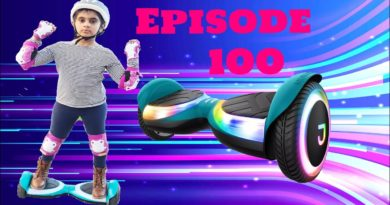 Hoverboard| how to ride hoverboard| Jetson sphere light-up hoverboard|#Episode 100