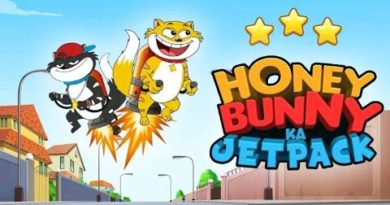 honey Bunny ka jetpack game best honey Bunny game gaming Nikhil B4 best Android game for kid game.