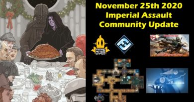 Imperial Assault 11/25 – AMG News, New Map Rotation, Tournament Results and Being Thankful