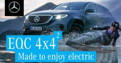 Mercedes-Benz EQC 4×4² Is Apparently Ideal For Pulling Along A Wakeboarder