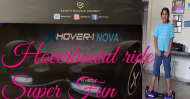 Fun ride With Hoverboard | #hoverboard #thanksgiving #gift
