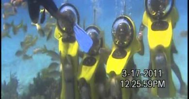 BOB Underwater adventure in Cancun Waters