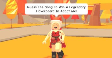 Guess the song to win a Legendary Hoverboard in Adopt Me! (read description)