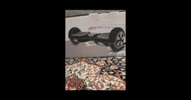 Unboxing my Hoverboard – How to ride a hoverboard