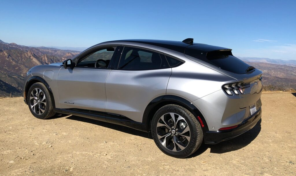 Flash Drive: 2021 Ford Mustang Mach-E Electric Crossover