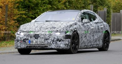2022 Mercedes-Benz EQE Sedan Spied Again, Still Mostly Hidden By Camo