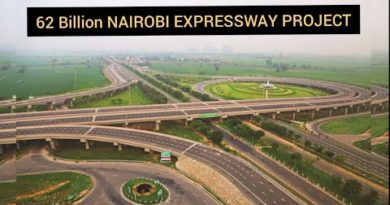 62 Billion Nairobi Expressway Construction Project. First of its kind in Africa. Mombasa road.
