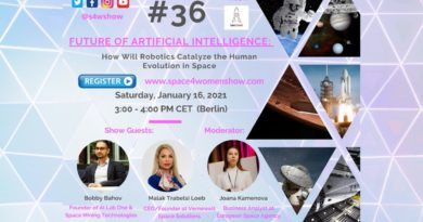 #36: Future of AI: – How will Robotics catalyze the human evolution in space❓