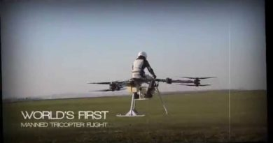 Flike First Manned Flight
