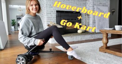 AMAZON HOVERBOARD + GO KART 2-in-1 review | GYROOR T581