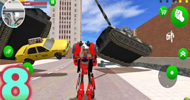 Update Giant Red Robot Car Transform New Game Android Gameplay FHD