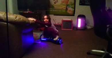Me being stupid on the hoverboard pt.1