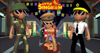 Little Singham 3D Run_ Milettry vs Commodore_New Lion HoverBoard Gameplay