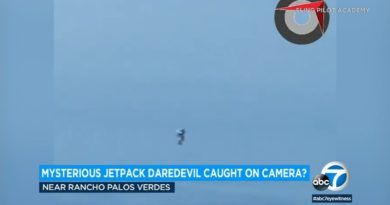 Video from pilot shows what appears to be jetpack man in Los Angeles | ABC7