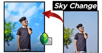 How To Change Sky In Snapseed | Photo me sky ko change kaise kare | Somnath Editz