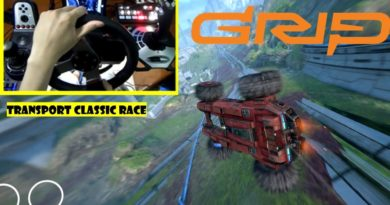 Grip Combat Racing Transport Classic Race with Steering Wheel