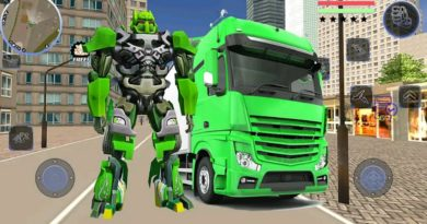 Robot Truck Transformer US Police – Robot War Game – Android Gameplay