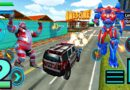 Update Police Elephant Robot Game: Police Transport Games Android Simulator