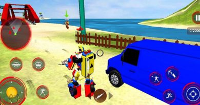 Firefighter Robot Transforming Truck Rescue and Destroy Enemies – Android Gameplay