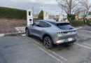 How fast does the Ford EV charge up on road trips?