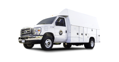 Charged EVs | Phoenix Motorcars delivers two electric Class 4 utility trucks to Port of Oakland