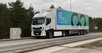 ElectReon Completes Dynamic Wireless Charging Road For Trucks