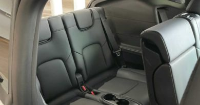 Tesla Model Y Third Row Shown With Actual People Inside