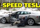 Gas-Guzzling V8 Tesla Model S Gets A Clutch Pedal