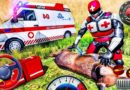 Ambulance Driving Simulator 2020 – Robot Doctor Zoo Animals Rescue Ranger – Android GamePlay