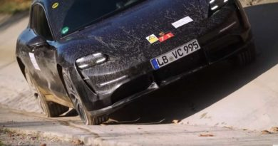 See Porsche Taycan Cross Turismo Testing Before Launch (Delayed Again)