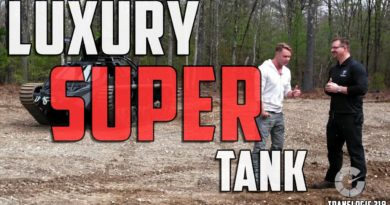 What It's Like To Drive A Luxury Super Tank | Translogic 218
