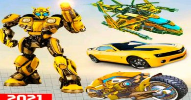 Bumblebee Flying Car Helicopter Robot Transform Game 2021- Android Gameplay