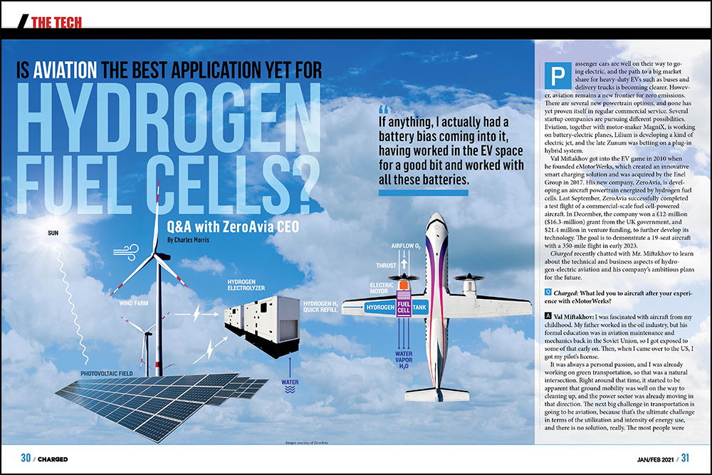 Charged EVs | Is aviation the best application yet for hydrogen fuel cells?