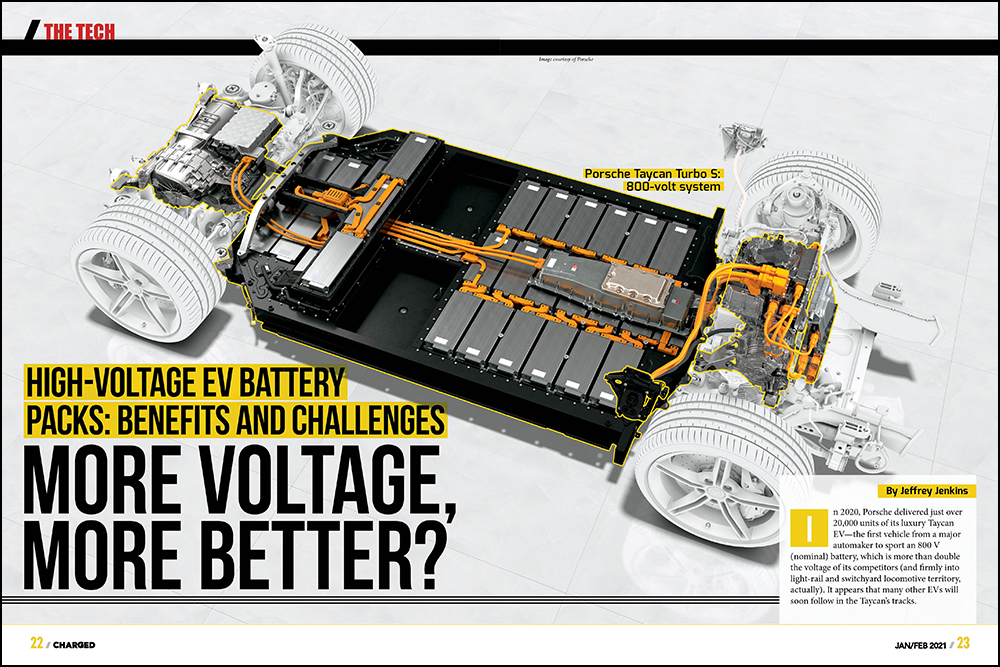 Charged EVs | High-voltage EV battery packs: benefits and challenges. More voltage, more better?