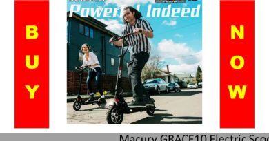 ✓ Macury GRACE10 Electric Scooter GRACE & ZERO 10 Hoverboard Skateboard 2 Wheel 10 Inch 52V1000