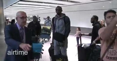 Usain Bolt Uses Hoverboard To Hurtle Through Airport ✈️