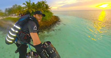 Maldives Jet Suit Adventure!
