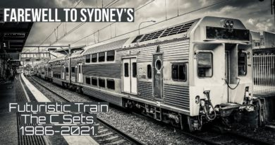 Farewell to Sydney's Futuristic Train | The C Sets.