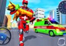 Animal Rescue Robot Hero Mission – Emergency Ambulance Van Drive – Android GamePlay