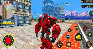 Cliff Jumper Flying Car Helicopter Robot Transform Game 2021- Android Gameplay