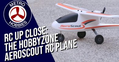 The AeroScout RC Plane by Hobbyzone, a Plane for Everyone! | Radio Control Up Close