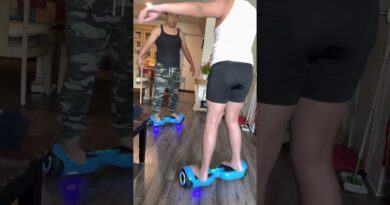 Learning how to hoverboard