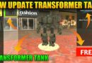 New military transformer tank in rope hero vice town | rope hero vice town new update