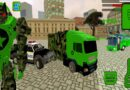 US Robot Army Truck Missile Soldier : Army Truck Driving Games Android