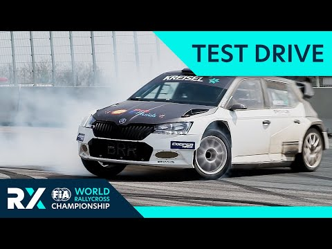 680 hp Electric Rallycross RX1E tested by Andreas Mikkelsen | Electric Vehicle News