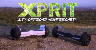 XPRIT 8.5 Premium Off Road Hoverboard UL certificated, Aluminum body 8.5-inch durable rubber tires .