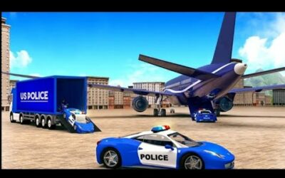 US Police Car transport Simulator / Police / Game Play / Android Game / Zaheer Ali / ChZaheerGaming